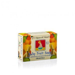 Sapun natural Strawberry pentru copii, 100 g Laboratorio Naturale