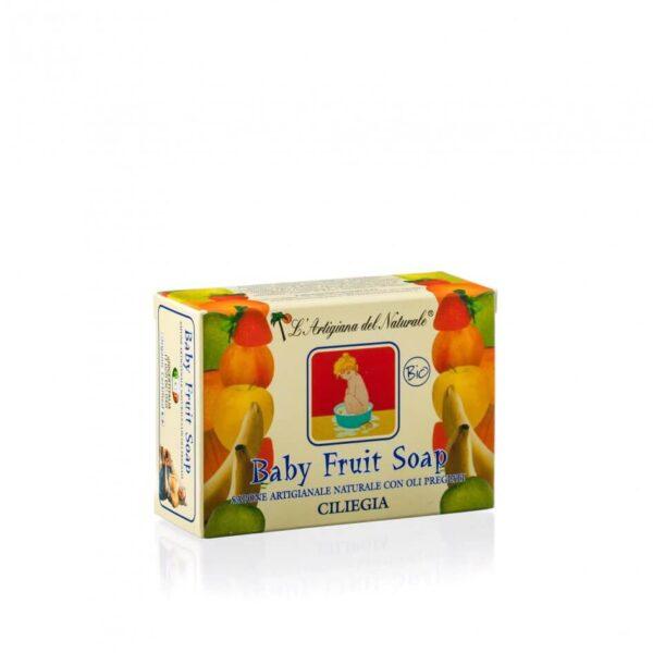 Sapun natural Cherry pentru copii , 100 g Laboratorio Naturale