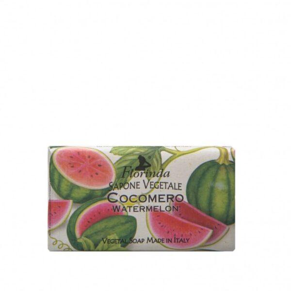 Sapun vegetal cu pepene verde Florinda, 100 g La Dispensa