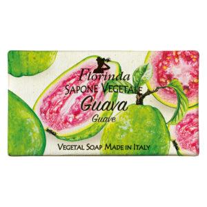 Sapun vegetal cu guava Florinda, 100 g La Dispensa