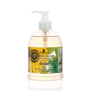 Sapun lichid hidratant cu chihlimbar si ulei de Jojoba Florinda, 500 ml La Dispensa