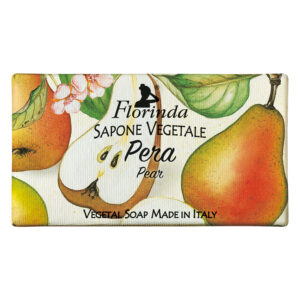 Sapun vegetal cu pere Florinda, 100 g La Dispensa