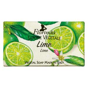 Sapun vegetal cu lime Florinda, 100 g La Dispensa