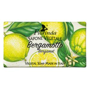Sapun vegetal cu flori de bergamota Florinda, 100 g La Dispensa