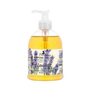 Sapun lichid vegetal hidratant cu lavanda si ulei de Jojoba, Florinda, 500 ml La Dispensa