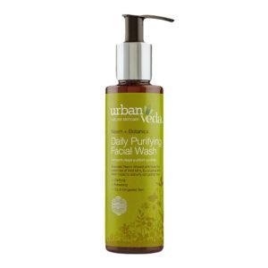Gel de curatare facial cu ulei de neem pentru ten gras, Purifying &#82...