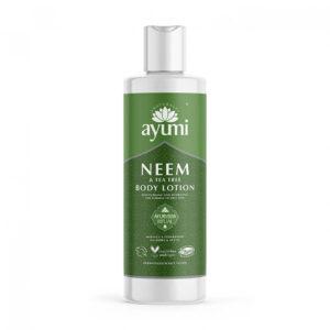 Lotiune de corp cu Neem & Tea Tree, Ayumi, 250 ml