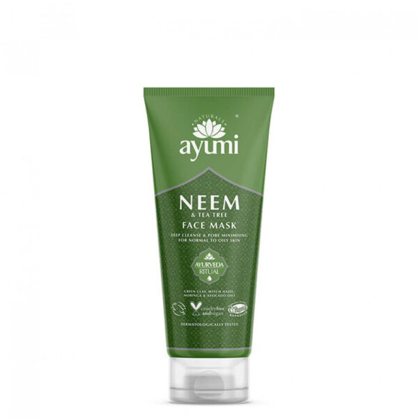 Masca faciala cu Neem & Tea Tree, Ayumi, 100 ml
