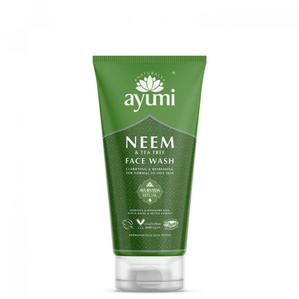 Gel de curatare faciala cu Neem & Tea Tree, Ayumi, 150 ml