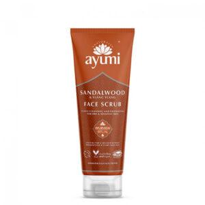 Exfoliant facial cu Lemn de Santal si Ylang Ylang, Ayumi, 125 ml