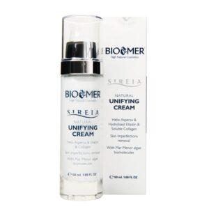 Crema uniformizanta cu extract de melc, elastina si colagen, Sireia – Bio Mer, 50 ml