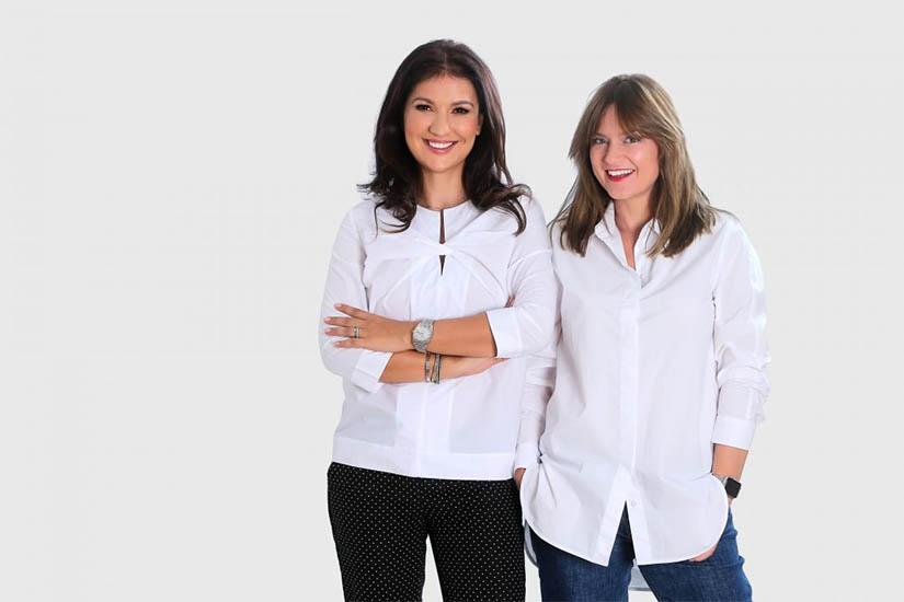 Claudia si Teodora sunt creatoarele Sarya Couture Makeup, gama de machiaj organic