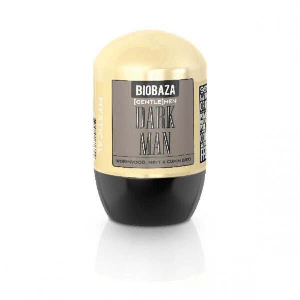 Deodorant natural barbati DARK MEN (menta si chimion), Biobaza, 50 ml