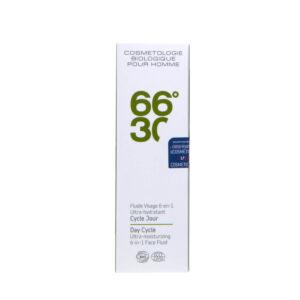 Emulsie Ultra-hidratanta  pentru fata 6-in-1, BIO, pentru barbati, 66-30, 15 ml