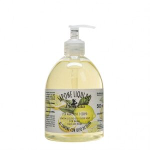 Sapun lichid vegetal hidratant cu lamaie si ulei de masline, Florinda,...