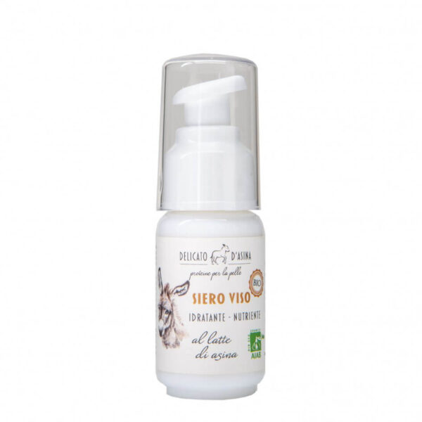Serum facial hidratant si regenerant cu lapte de magarita, BIO, La Dispensa, 30 ml