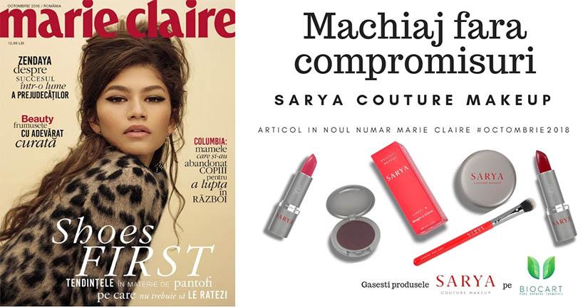 Machiaj fara compromisuri: Sarya Couture Makeup