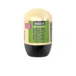 Deodorant natural barbati GREEN GRASS (lemon grass), Biobaza, 50 ml