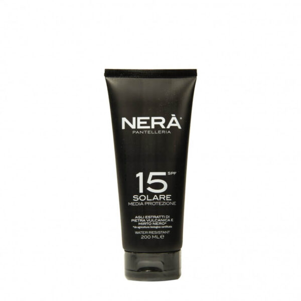 Crema pentru protectie solara medium, SPF15, Nerà, 200 ml