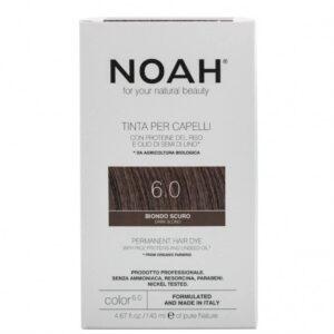 Vopsea de par naturala,Blond inchis, 6.0,Noah, 140 ml
