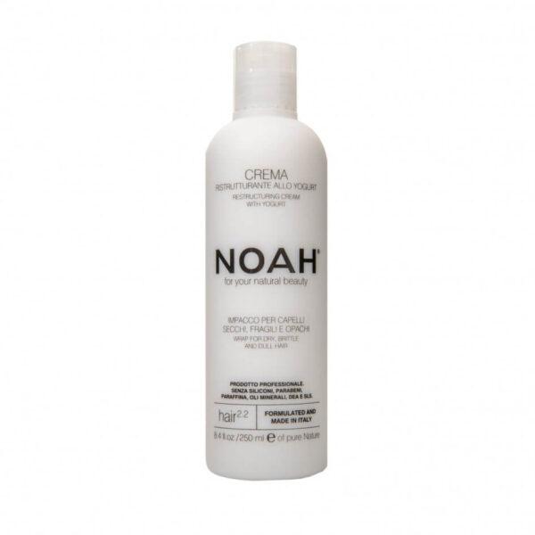 Balsam crema restructurant cu iaurt pentru par uscat, fragil si lipsit de stralucire (2.2), Noah, 250 ml