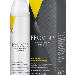 Crema pro hidratanta pentru barbati Oil balance, 50 ml, Proverb