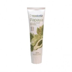 Pasta de dinti pentru albire cu extract de papaya, Cosmos Organic, Eco...