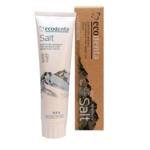 Pasta de dinti pentru dinti si gingii sensibile cu sare naturala, Cosm...