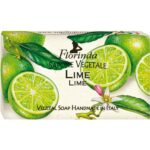 Sapun vegetal cu lime Florinda, 100 g La Dispensa