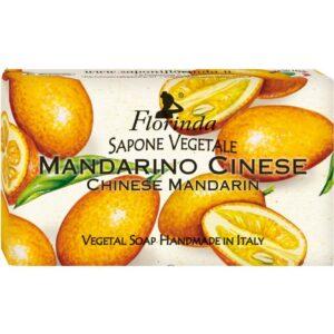 Sapun vegetal cu mandarine chinezesti Florinda, 100 g La Dispensa