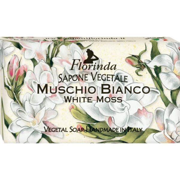 Sapun vegetal cu mosc alb Florinda, 100 g La Dispensa