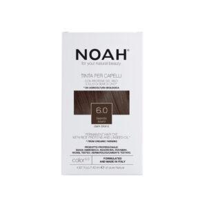 Vopsea de par naturala fara amoniac,Blond inchis, 6.0,Noah, 140 ml