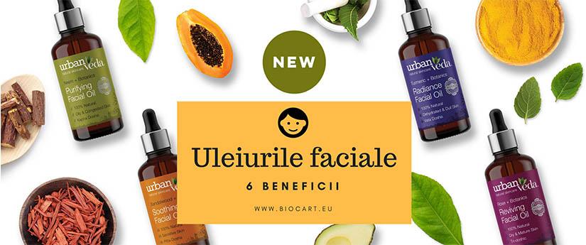 Uleiurile faciale: 6 beneficii