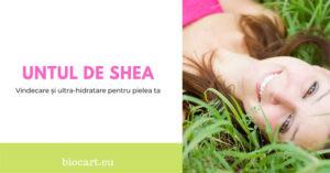 Untul de shea – vindecare si reintinerire pentru pielea ta