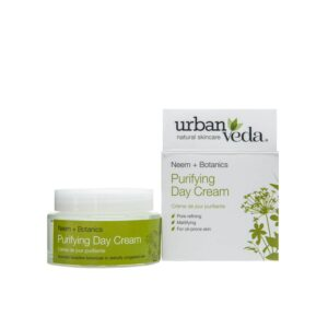 Crema de zi matifianta cu extract de neem organic – ten gras, Pu...