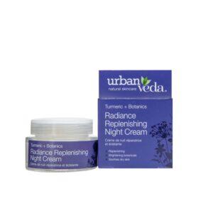 Crema puternic hidratanta de noapte cu extract de turmeric – ten...