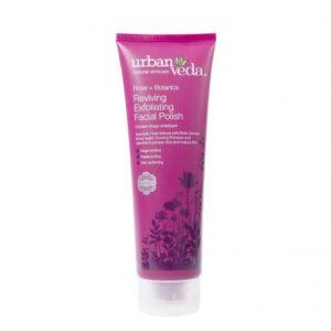 Exfoliant revitalizant pentru curatare faciala cu ulei de trandafir de...