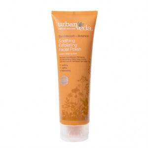 Exfoliant hidratant pentru curatare faciala cu extract de lemn de sant...