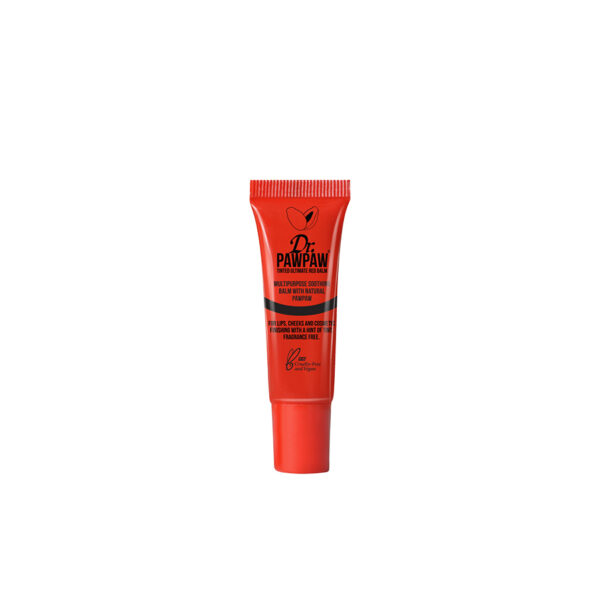 Balsam multifunctional, nuanta Red, 10ml, Dr PawPaw