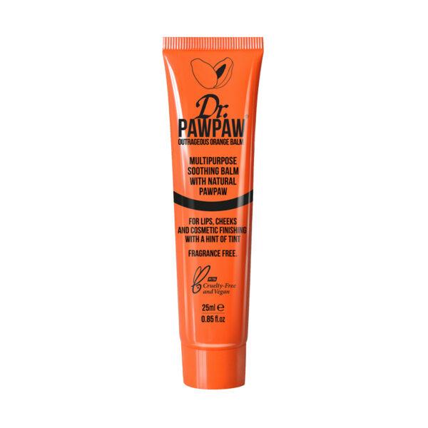 Balsam multifunctional, nuanta Orange, 25ml, Dr PawPaw