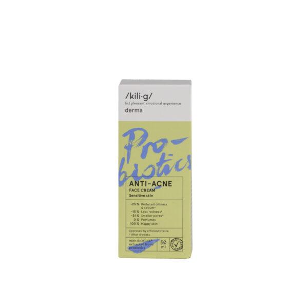 Crema de pata cu probiotice pentru ten sensibil si acneic, KILIG DERMA, 50 ml