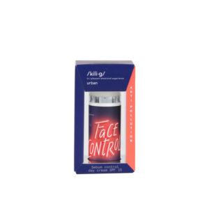 Crema de fata pentru ten gras SPF 15 Anti Pollution, KILIG URBAN, 50 ml