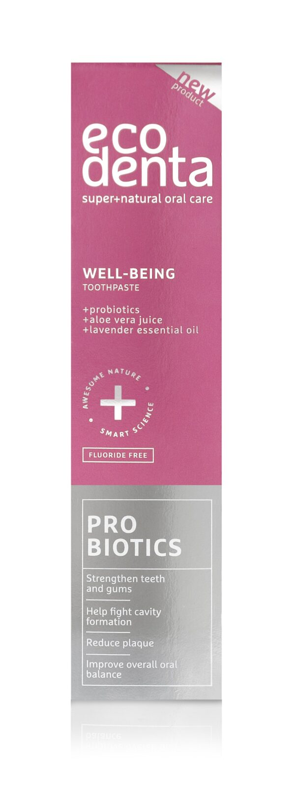 Pasta de dinti Well-Being cu probiotice, Ecodenta, 100 ml
