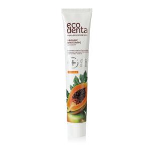 Pasta de dinti organica pentru albire cu extract de papaya, Ecodenta, ...