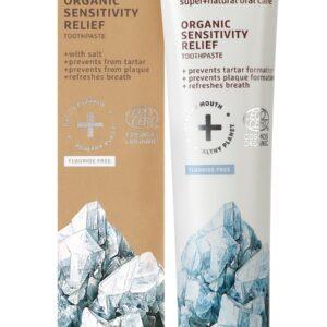 Pasta de dinti organica pentru dinti si gingii sensibile, Ecodenta, 75...
