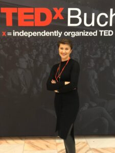 Proud partners of TEDx Bucharest Women