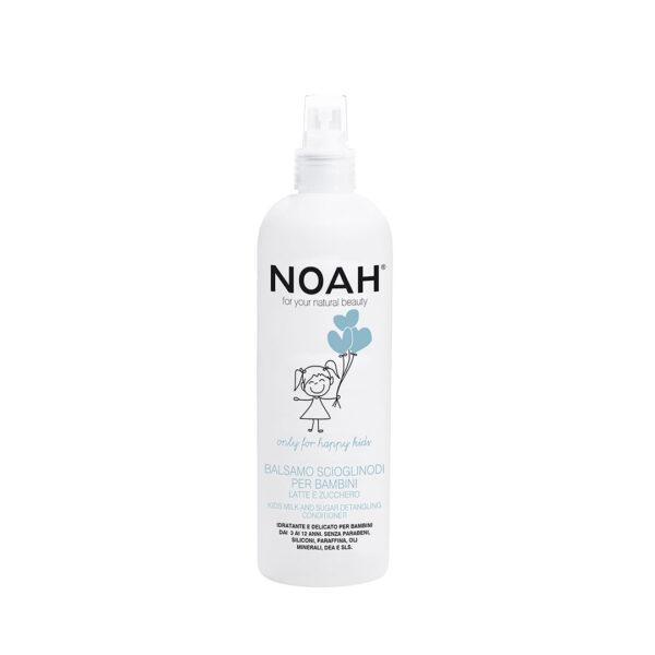 Balsam spray cu lapte & zahar pentru descurcat parul, Noah, 250 ml