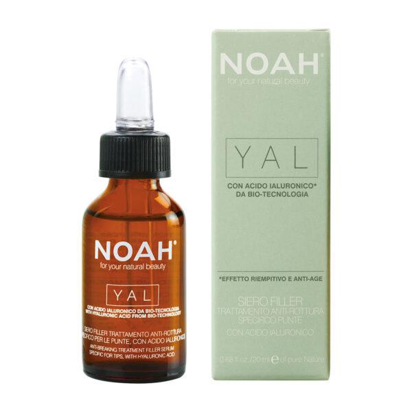 Ser pentru par cu acid hialuronic pentru regenerare - Yal, Noah, 20 ml