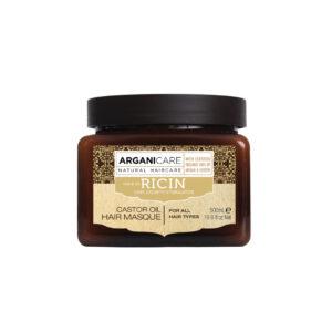 Masca reparatoare cu ulei de ricin pentru toate tipurile de par, Argan...