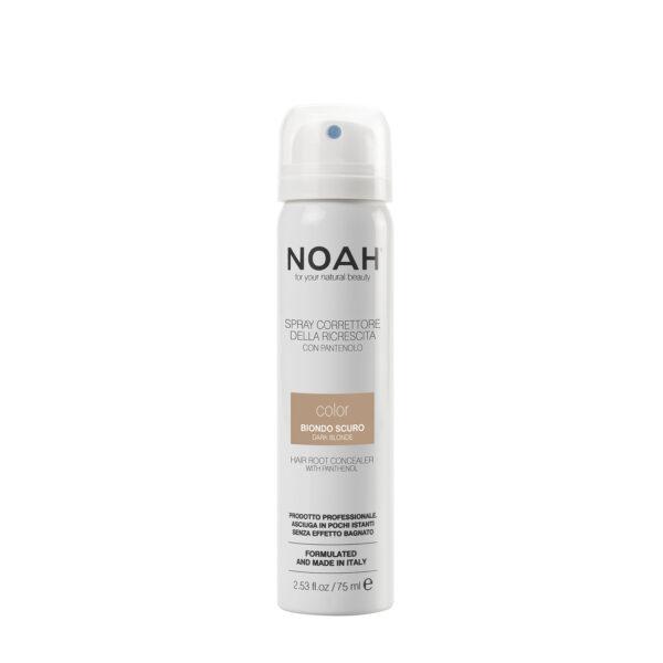 Spray corector cu vitamina B5 pentru acoperirea radacinii parului -BLOND INCHIS, Noah, 75 ml